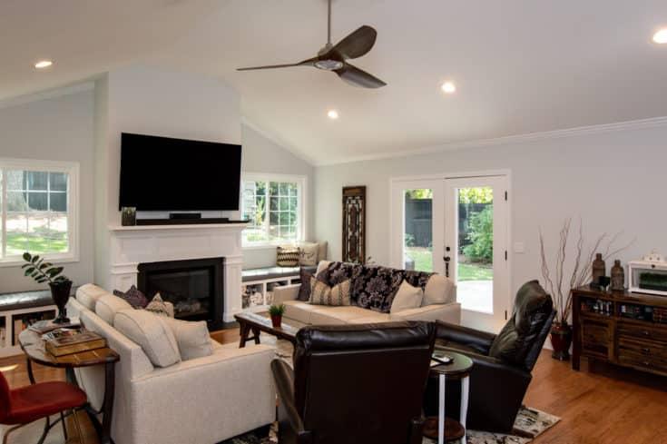 Custom Home Addition & Patio in Greenville, SC