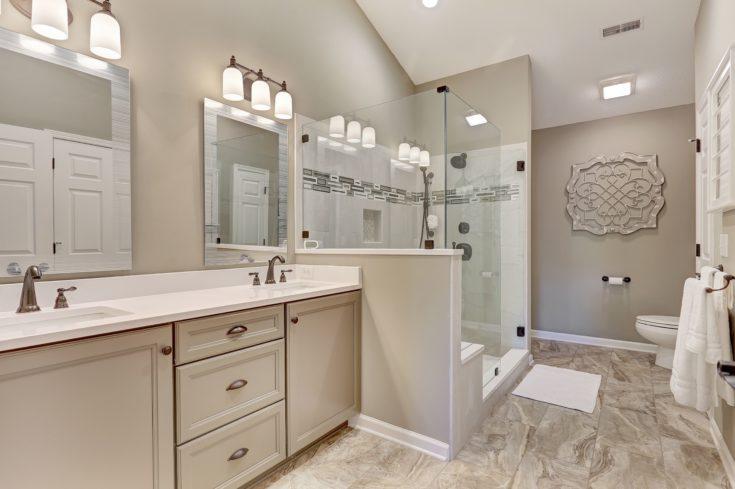 Double Bathroom Renovation, Greer SC