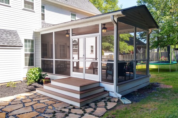 Remarkable Screen Porch Addition, Simpsonville SC