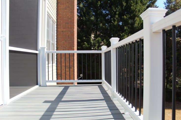 2 in 1 Elevated Screen Porch and Deck, Simpsonville SC