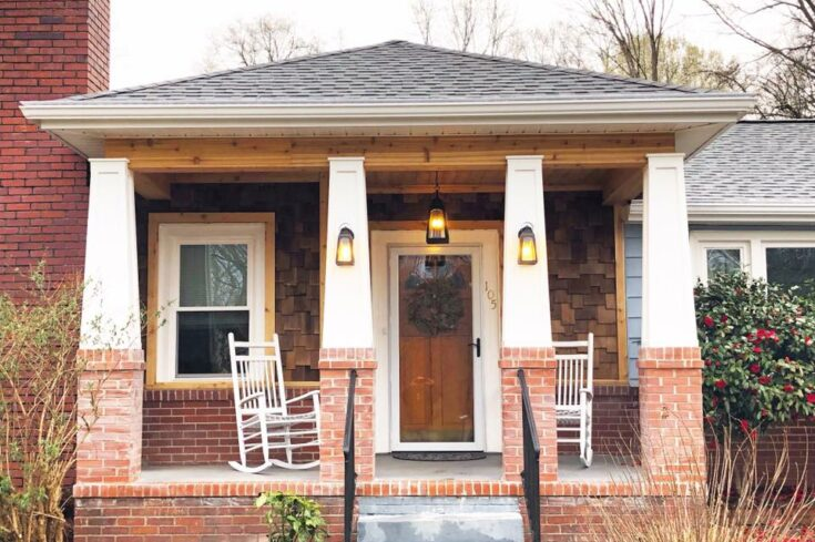 Charming Front Porch in Simpsonville SC
